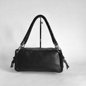 Michael Kors Black Leather Handbag Shoulder bag